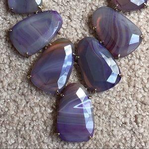 Best Offer - Kendra Scott Purple Agate Harlow